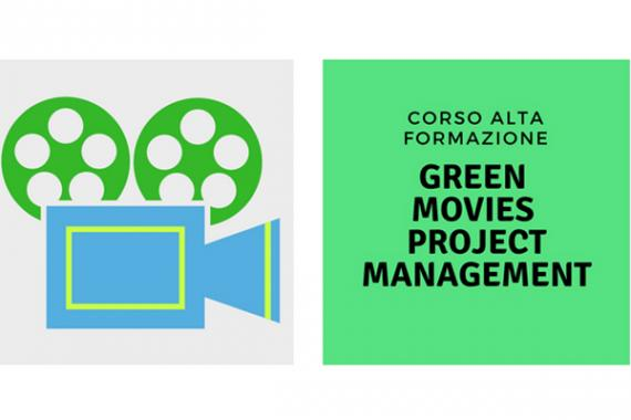 Locandina corso Green movies project manager